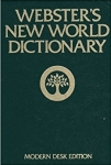 New World Dictionary